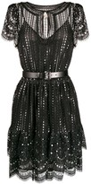 MICHAEL Michael Kors embroidered lace dress