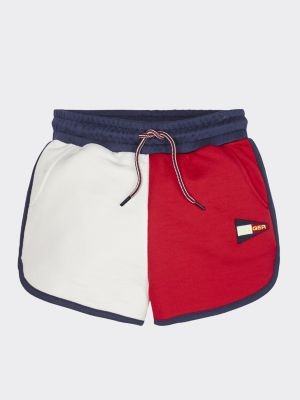 Tommy Hilfiger Colour-Blocked Shorts