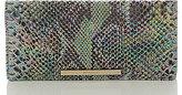 Brahmin Seville Collection Ady Snake-Embossed Wallet