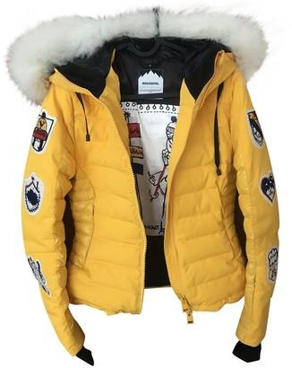 JC de CASTELBAJAC Yellow Coat for Women