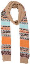M Missoni Striped Wool Blend Scarf