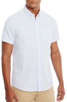 Kenneth Cole Thin Striped Oxford Shirt