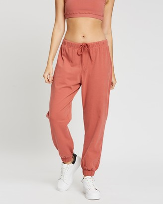 Topshop Peached Jersey Jogger Pants