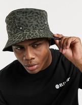 Element Tam bucket hat in leopard camo