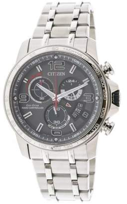 Citizen Men's Chrono Time AT Stainless Steel Watch BY0100-51H