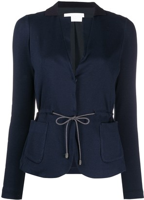 Fabiana Filippi Tailored Drawstring Cardigan