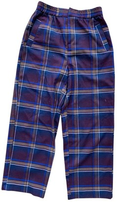 Urban Outfitters Multicolour Cotton Trousers for Women