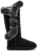 Australia Luxe Collective Nordic Angel X Tall Rabbit Fur and Shearling Boot