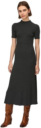 Gabriela Hearst Lvr Sustainable Wool Rib Knit Dress