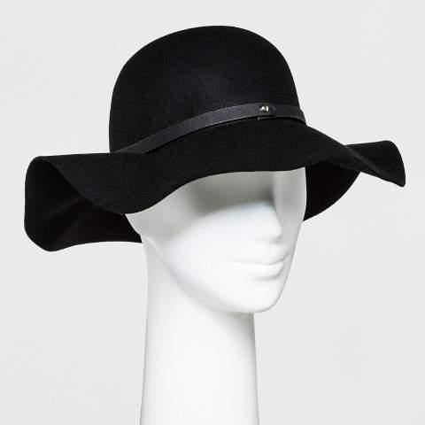 af295cd9 Wide Brim Floppy Black Hat - ShopStyle