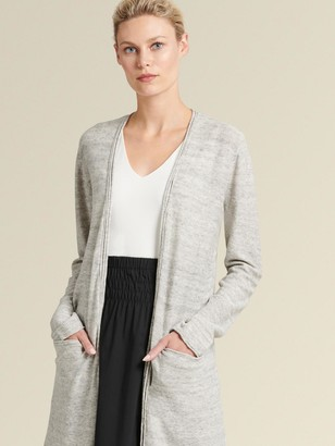 DKNY Open-front Duster Cardigan