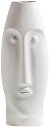 Torre & Tagus Litho 14In Ceramic Vase Short
