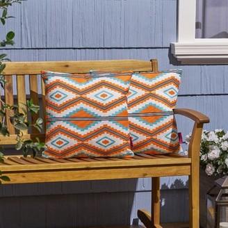 Millwood Pines Teegan Boho Southwestern/Tribal Indoor/Outdoor Throw Pillow