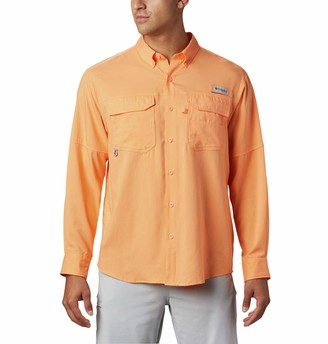Columbia Mens PFG Blood and Guts III Long Sleeve Shirt Stain & Water Resistant