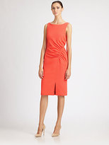 Carolina Herrera Ruched Dress