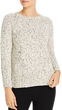 Eileen Fisher Organic-Cotton Blend Sweater