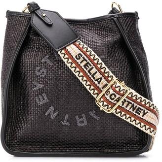 Stella McCartney Stella Logo woven shoulder bag