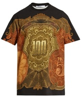 Givenchy Columbian-fit dollar-print cotton T-shirt