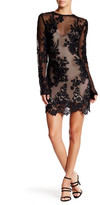 Sky Indy Mesh Flower Lace Sweetheart Dress
