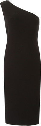 Bottega Veneta ONE-SHOULDER DRESS 38 Black