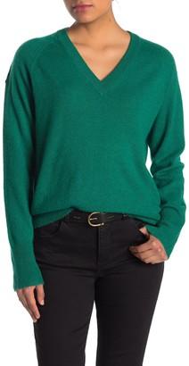 360 Cashmere Callie V-Neck Cashmere Sweater