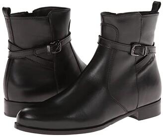 La Canadienne Scarlet (Black Leather) Women's Boots