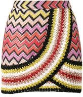 Missoni Mare knitted mini skirt