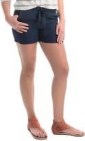 Allen Allen Linen Shorts (For Women)