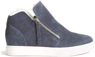 Steve Madden Caliber-F Grey Suede Sneaker Grey 7.5