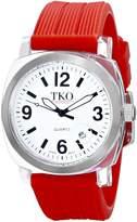 TKO ORLOGI Women's TK558-WR Milano Junior Acrylic Case Dial Watch