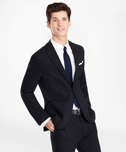 Brooks Brothers Pinstripe Two-Button Suit