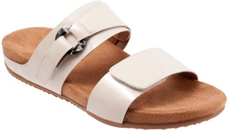SoftWalk Adjustable Slide Sandals - Barcelona