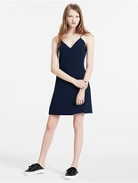 Calvin Klein Jeans Panelled Crepe Dress