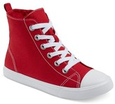 Cat & Jack Boys' Paxton Hi-Top Canvas Sneakers Cat & Jack - Red