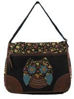 Bongo Junior's Messenger Bag - Floral Owl