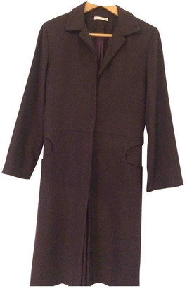 Les Prairies de Paris Wool Coat for Women