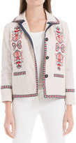 Max Studio Embroidered Jacket