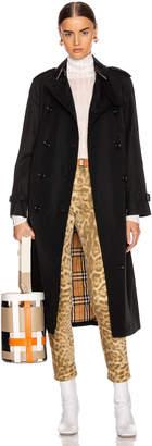 Burberry Heritage Refresh Slim Westminster Trench Jacket in Black | FWRD
