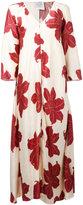 Forte Forte hibiscus print maxi dress