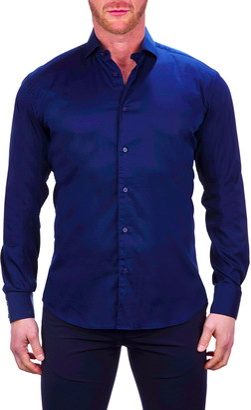 Maceoo Galileo Stretch Button-Up Shirt