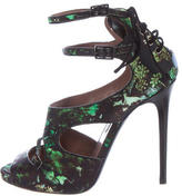 Tabitha Simmons Bailey Satin Sandals
