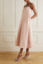 Thumbnail for your product : Huishan Zhang Malvina Duchesse Midi Dress - Pink