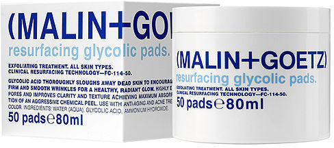 Malin+Goetz Resurfacing Glycolic Acid Pad 50 ea