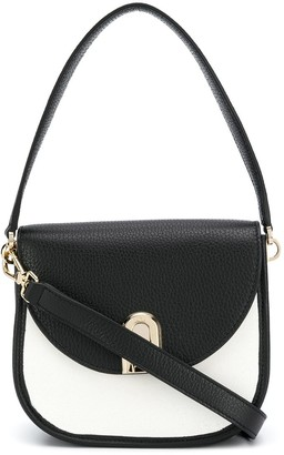 Furla Two-Tone Shoulder Bag