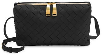 Bottega Veneta Mini Nodini Leather Crossbody Bag