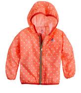 K-Way Girls' for crewcuts Claude Klassic jacket in polka dot