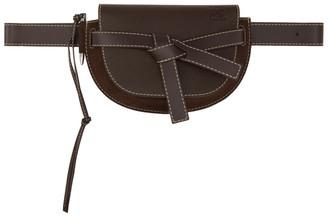 Loewe Brown Large Gate Bum Bag