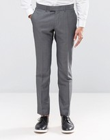 Ben Sherman Camden Super Skinny Charcoal Tonic Suit Trousers