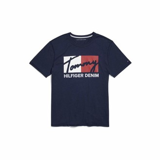 Tommy Hilfiger Men's Adaptive Sensory Tagless T Shirt