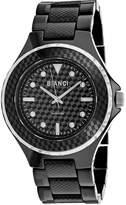 Roberto Bianci Womens Black Bracelet Watch-Rb2790